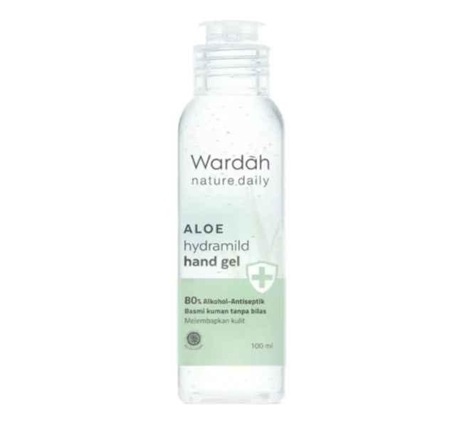 Wardah Nature Daily Aloe Hydramild Hand Gel
