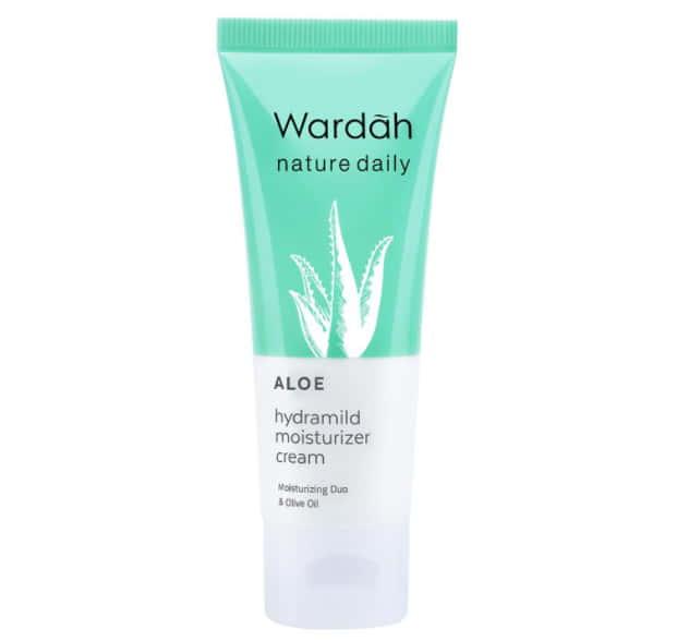 Wardah Nature Daily Aloe Hydramild Moisturizer Cream
