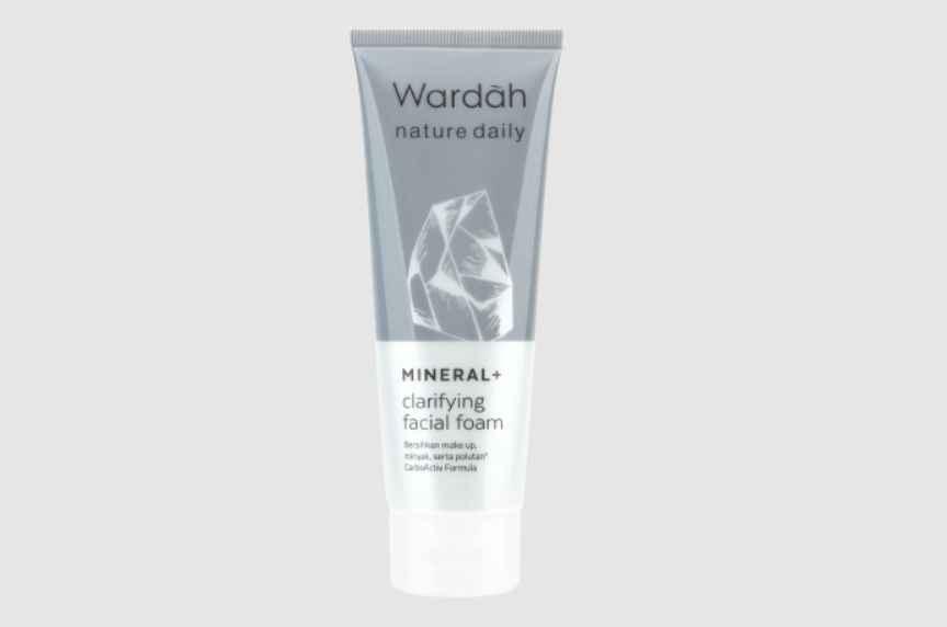Wardah Nature Daily Mineral Clarifying Facial Foam