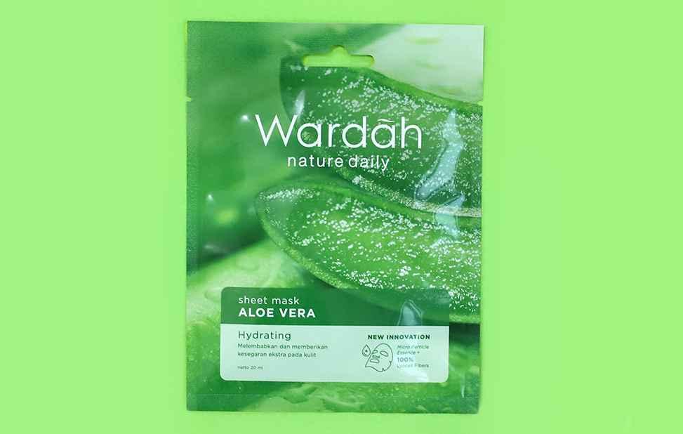 Wardah Nature Daily Sheet Mask Aloe Vera