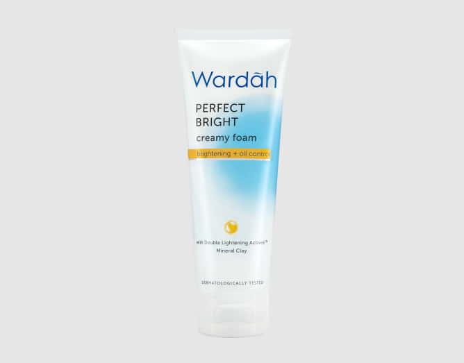Wardah Perfect Bright Creamy Foam Brightening + Oil Control